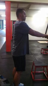 Slow eccentric load up