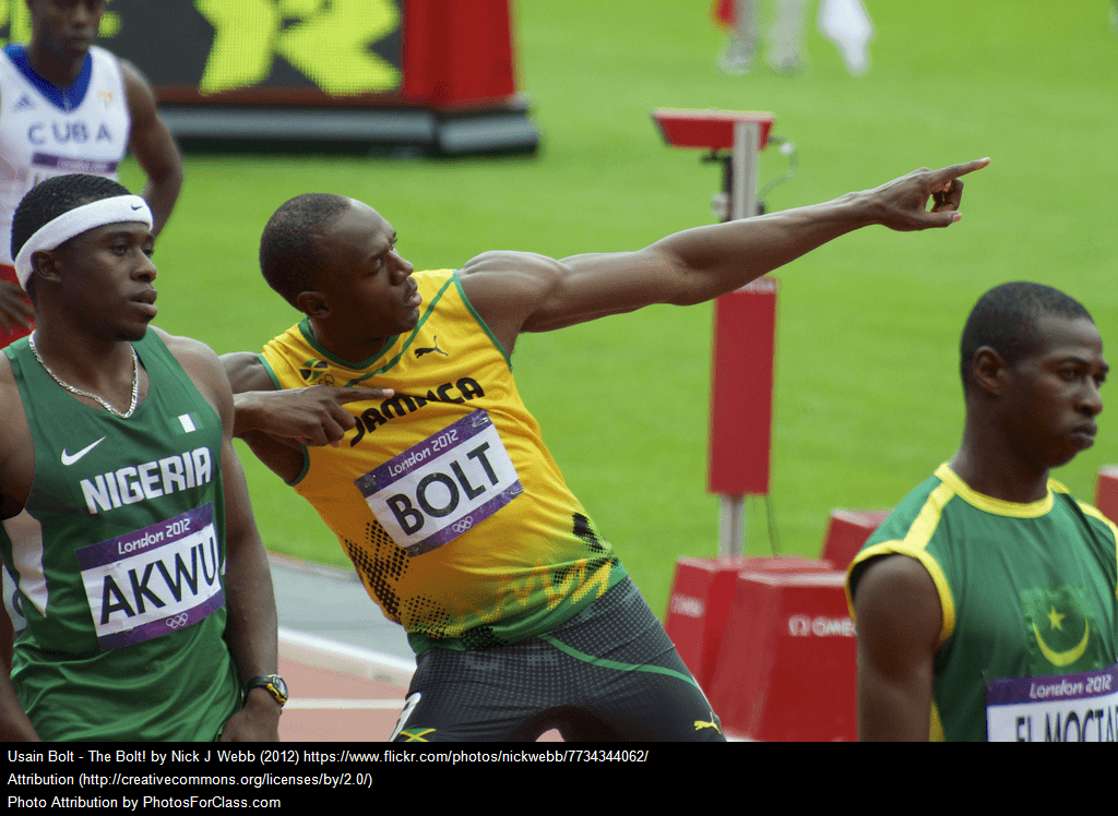 Could Usain be Faster??